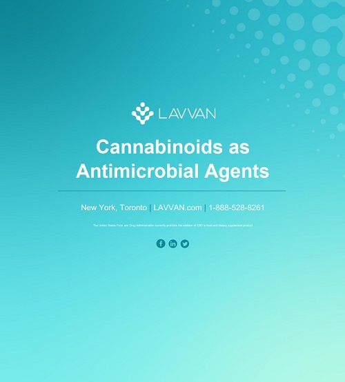 Cannabinoids as Antimicrobial Agents